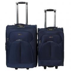 Комплект чемоданов 002-411/412-FM-NAV Francesco Molinary FMolinary Франческо Молинари FMolinari Molinari