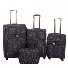 Комплект чемоданов 030-10703B/4-GRY Francesco Molinary FMolinary Франческо Молинари FMolinari Molinari