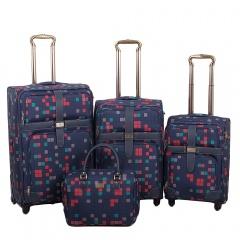 Комплект чемоданов 030-10703B/4-NAV Francesco Molinary FMolinary Франческо Молинари FMolinari Molinari