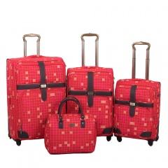 Комплект чемоданов 030-10703B/4-RED Francesco Molinary FMolinary Франческо Молинари FMolinari Molinari