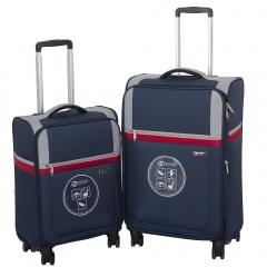 Комплект чемоданов 030-1381/2-NAV Francesco Molinary FMolinary Франческо Молинари FMolinari Molinari