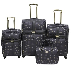 Комплект чемоданов 030-C10703B1-4-GRY Francesco Molinary FMolinary Франческо Молинари FMolinari Molinari