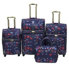Комплект чемоданов 030-C10703B1-4-NAV Francesco Molinary FMolinary Франческо Молинари FMolinari Molinari