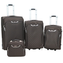Комплект чемоданов 030-C3659B/4-BRW Francesco Molinary FMolinary Франческо Молинари FMolinari Molinari