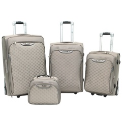 Комплект чемоданов 030-C3659B/4-GRY Francesco Molinary FMolinary Франческо Молинари FMolinari Molinari