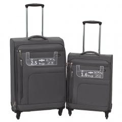 Комплект чемоданов 111-15048/2-GRY Francesco Molinary FMolinary Франческо Молинари FMolinari Molinari