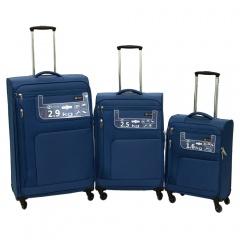 Комплект чемоданов 111-15048/3-NAV Francesco Molinary FMolinary Франческо Молинари FMolinari Molinari