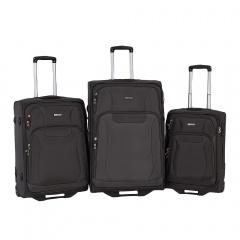 Комплект чемоданов 111-16033/3-GRY Francesco Molinary FMolinary Франческо Молинари FMolinari Molinari