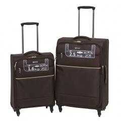Комплект чемоданов 111-16043/2-BRW Francesco Molinary FMolinary Франческо Молинари FMolinari Molinari