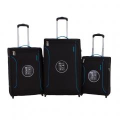 Комплект чемоданов 111-681905/3-BLK Francesco Molinary FMolinary Франческо Молинари FMolinari Molinari