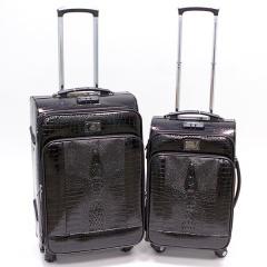 Комплект чемоданов 118-1013/2-BLK Francesco Molinary FMolinary Франческо Молинари FMolinari Molinari