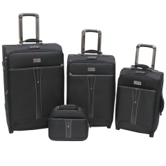 Комплект чемоданов 118-6005/4-BLK Francesco Molinary FMolinary Франческо Молинари FMolinari Molinari