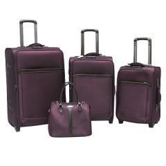 Комплект чемоданов 118-6018/4-PRP Francesco Molinary FMolinary Франческо Молинари FMolinari Molinari