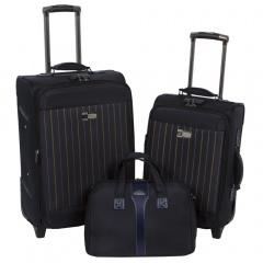 Комплект чемоданов 118-6052-3-NAV Francesco Molinary FMolinary Франческо Молинари FMolinari Molinari