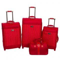 Комплект чемоданов 118-6052/4RED Francesco Molinary FMolinary Франческо Молинари FMolinari Molinari