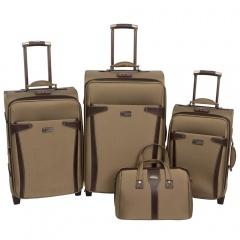 Комплект чемоданов 118-6053/4YLW Francesco Molinary FMolinary Франческо Молинари FMolinari Molinari
