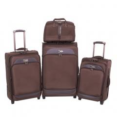 Комплект чемоданов 118-6080-4-BRW Francesco Molinary FMolinary Франческо Молинари FMolinari Molinari