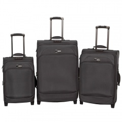 Комплект чемоданов 118-6080/3-GRY Francesco Molinary FMolinary Франческо Молинари FMolinari Molinari