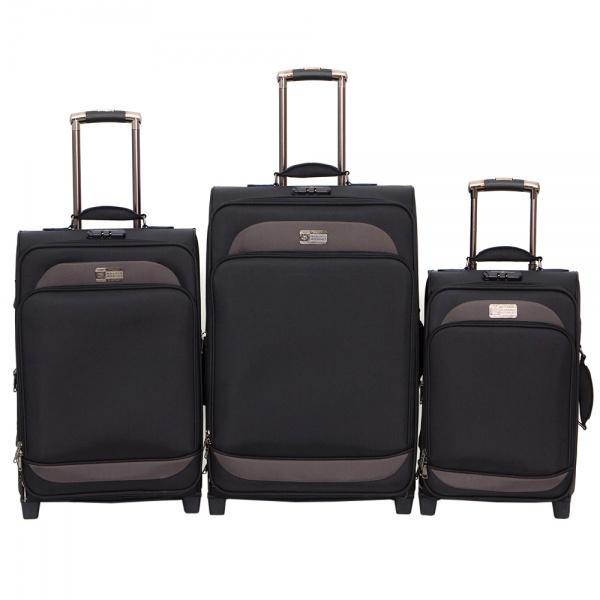 Комплект чемоданов 118-6080/3-NAV Francesco Molinary FMolinary Франческо Молинари FMolinari Molinari
