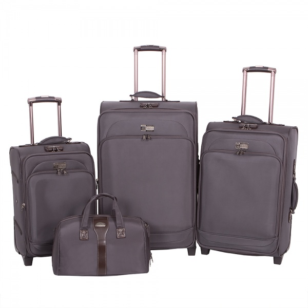Комплект чемоданов 118-6080/4-GRY Francesco Molinary FMolinary Франческо Молинари FMolinari Molinari