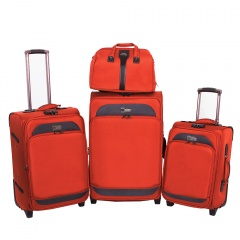 Комплект чемоданов 118-6080/4-ORN Francesco Molinary FMolinary Франческо Молинари FMolinari Molinari