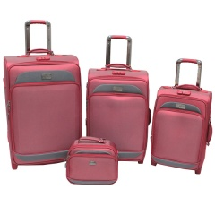 Комплект чемоданов 118-6080/4-RED Francesco Molinary FMolinary Франческо Молинари FMolinari Molinari