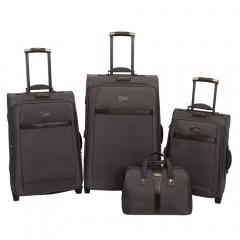 Комплект чемоданов 118-6096/4GRY Francesco Molinary FMolinary Франческо Молинари FMolinari Molinari