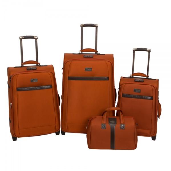 Комплект чемоданов 118-6096/4ORN Francesco Molinary FMolinary Франческо Молинари FMolinari Molinari