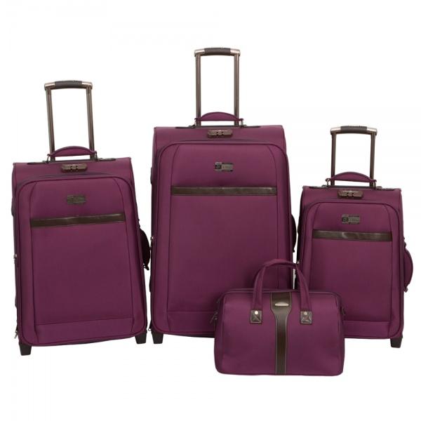 Комплект чемоданов 118-6096/4-PRP Francesco Molinary FMolinary Франческо Молинари FMolinari Molinari
