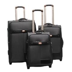 Комплект чемоданов 118-6098/3-BLK Francesco Molinary FMolinary Франческо Молинари FMolinari Molinari
