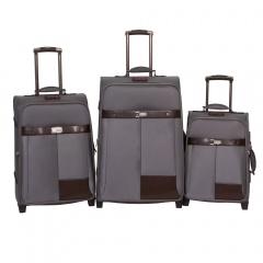 Комплект чемоданов 118-6098/3-GRY Francesco Molinary FMolinary Франческо Молинари FMolinari Molinari