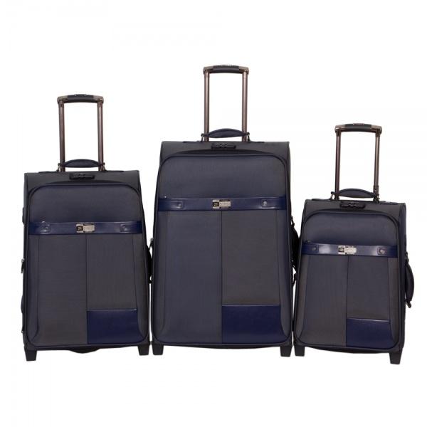 Комплект чемоданов 118-6098/3-NAV Francesco Molinary FMolinary Франческо Молинари FMolinari Molinari