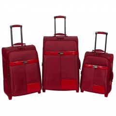 Комплект чемоданов 118-6098/3-RED Francesco Molinary FMolinary Франческо Молинари FMolinari Molinari