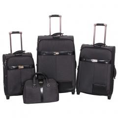 Комплект чемоданов 118-6098/4BLK Francesco Molinary FMolinary Франческо Молинари FMolinari Molinari