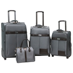 Комплект чемоданов 118-6098/4-GRY Francesco Molinary FMolinary Франческо Молинари FMolinari Molinari