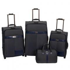 Комплект чемоданов 118-6098/4BLU Francesco Molinary FMolinary Франческо Молинари FMolinari Molinari