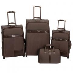 Комплект чемоданов 118-6098/4BRW Francesco Molinary FMolinary Франческо Молинари FMolinari Molinari