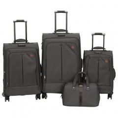 Комплект чемоданов 118-8013-4-GRY Francesco Molinary FMolinary Франческо Молинари FMolinari Molinari