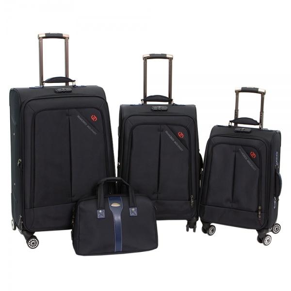 Комплект чемоданов 118-8013-4-NAV Francesco Molinary FMolinary Франческо Молинари FMolinari Molinari