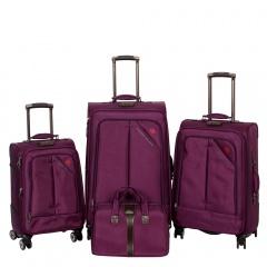 Комплект чемоданов 118-8013-4-PRP Francesco Molinary FMolinary Франческо Молинари FMolinari Molinari