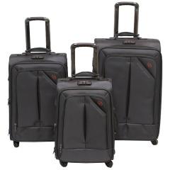 Комплект чемоданов 118-8013/3GRY Francesco Molinary FMolinary Франческо Молинари FMolinari Molinari
