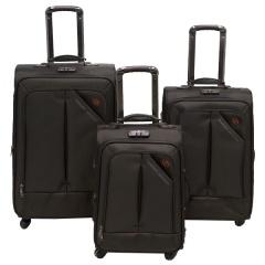Комплект чемоданов 118-8013/3BRW Francesco Molinary FMolinary Франческо Молинари FMolinari Molinari