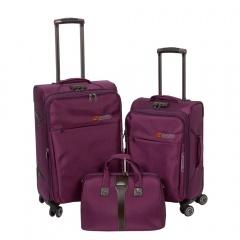 Комплект чемоданов 118-8059-3-PRP Francesco Molinary FMolinary Франческо Молинари FMolinari Molinari