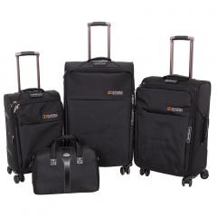 Комплект чемоданов 118-8059/4-BLK Francesco Molinary FMolinary Франческо Молинари FMolinari Molinari