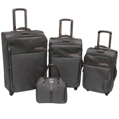 Комплект чемоданов 118-8059/4-GRY Francesco Molinary FMolinary Франческо Молинари FMolinari Molinari
