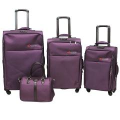 Комплект чемоданов 118-8059/4-PRP Francesco Molinary FMolinary Франческо Молинари FMolinari Molinari