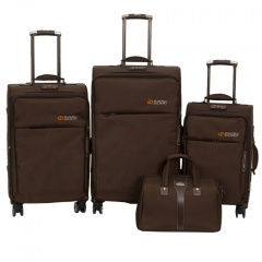 Комплект чемоданов 118-8059/4BRW Francesco Molinary FMolinary Франческо Молинари FMolinari Molinari