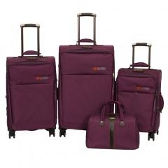 Комплект чемоданов 118-8059/4PRP Francesco Molinary FMolinary Франческо Молинари FMolinari Molinari