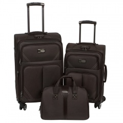 Комплект чемоданов 118-9023-3-BRW Francesco Molinary FMolinary Франческо Молинари FMolinari Molinari