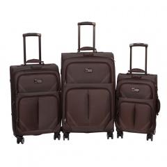 Комплект чемоданов 118-9023/3-BRW Francesco Molinary FMolinary Франческо Молинари FMolinari Molinari